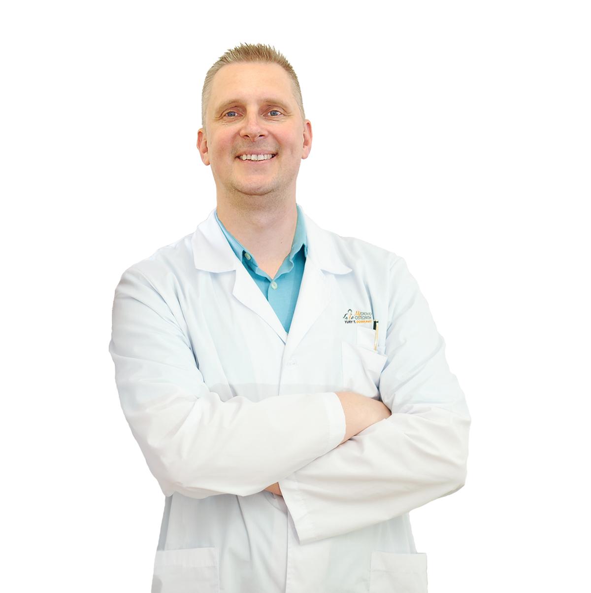 Yury Trybialustau, Osteopath RMT My Toronto Osteopath